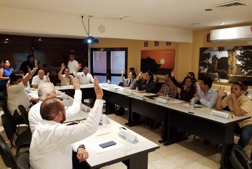 Segunda Sesión Extraordinaria de la Comisión de Ordenamiento Metropolitano de la Zona Metropolitana de Cancún encabezada por la Secretaría de Desarrollo Territorial Urbano Sustentable (Sedetus).